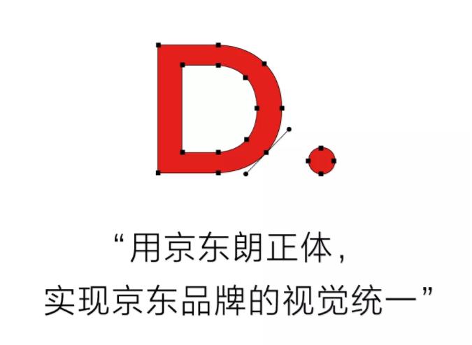 京东品牌定制字体正式发布---京东朗正体