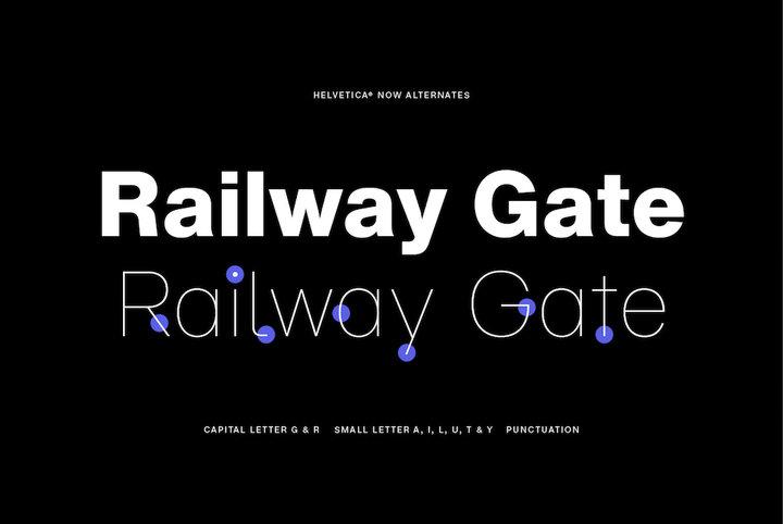 142款Helvetica系列字体打包下载