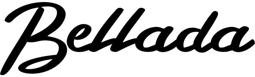Bellada书法英文字体