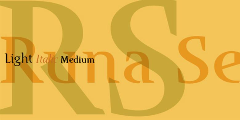 Runa-Serif™